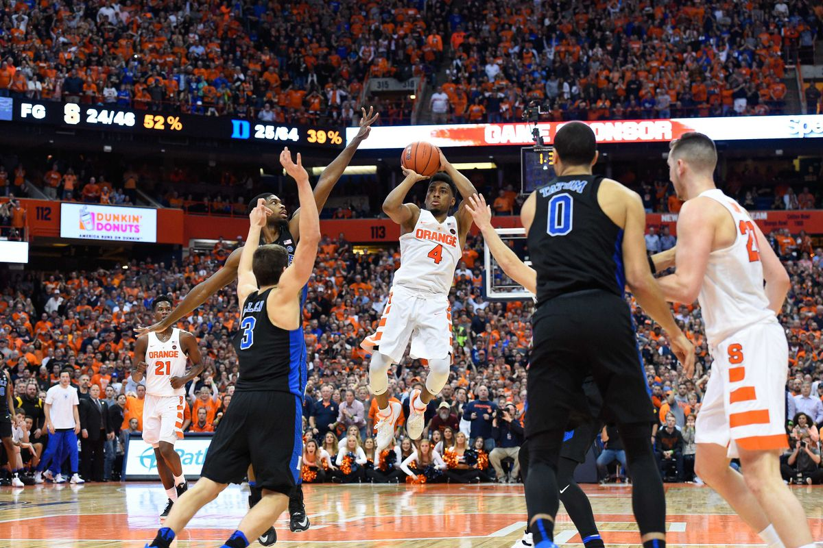 Image result for Syracuse vs Duke Basketball Live