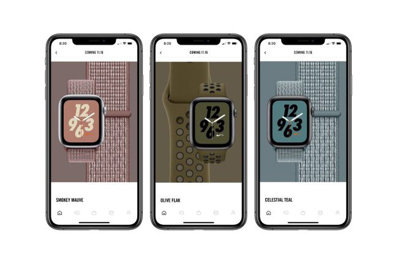three new bands are coming for the apple watch nike