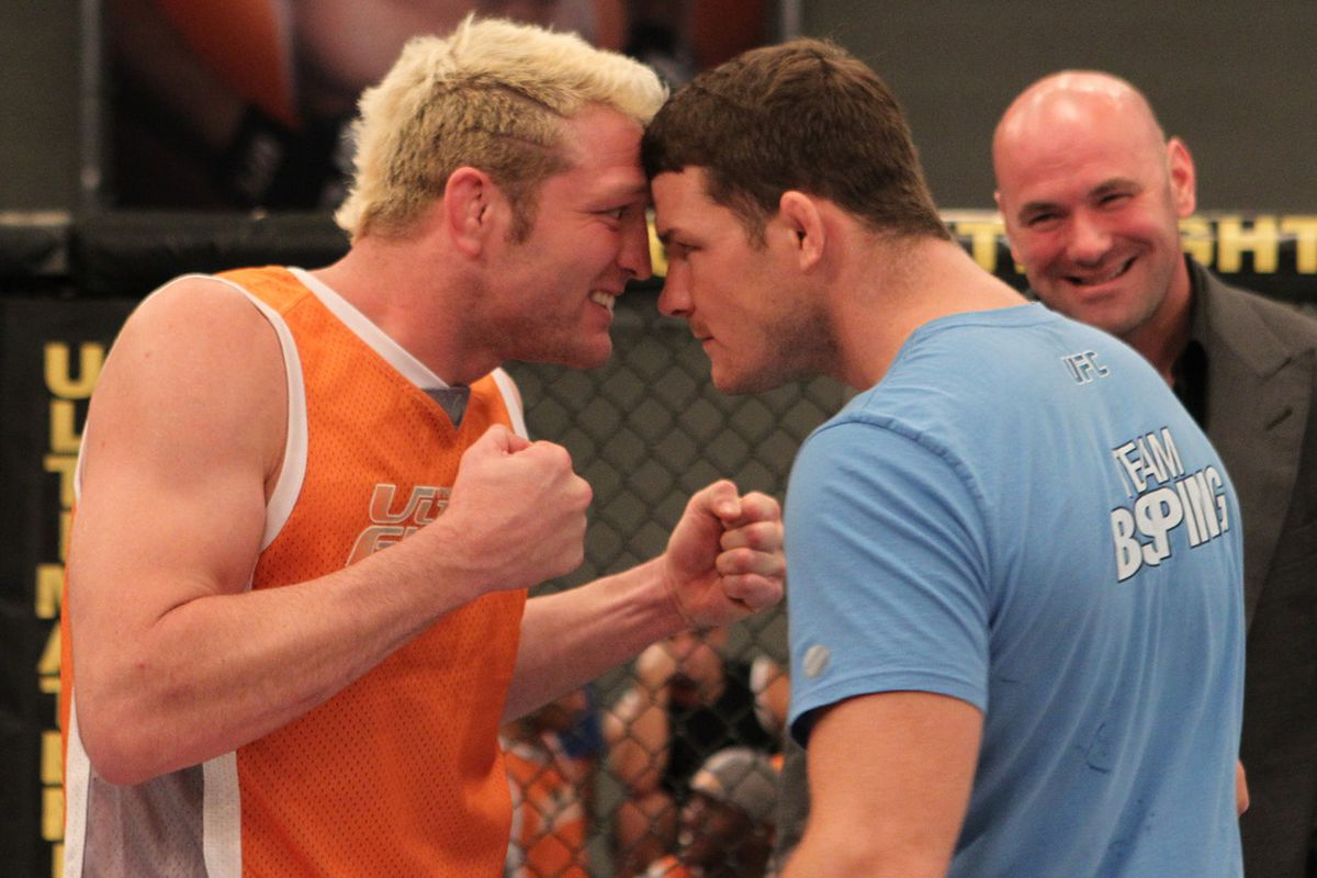 Jason Mayhem Miller Faces Off With Michael Bisping