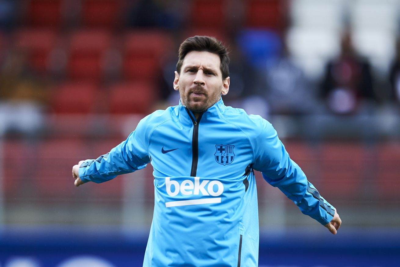 Marcelino tells Valencia how to cope with Messi
