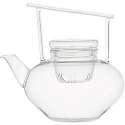"<b>CB2</b> Om Beaker Glass Teapot, <a href=""http://www.cb2.com/om-beaker-glass-teapot/f7764"">$17.95</a>"