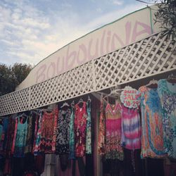 """Continue your magical shopping journey at hippie dress haven <a href=""""https://www.facebook.com/pages/BOUBOULINA-BOUTIQUE-est1980/113443008697398"""">Bouboulina Boutique</a> (108 N Topanga Canyon Blvd). There, find an eclectic array of merch to help channel y"""
