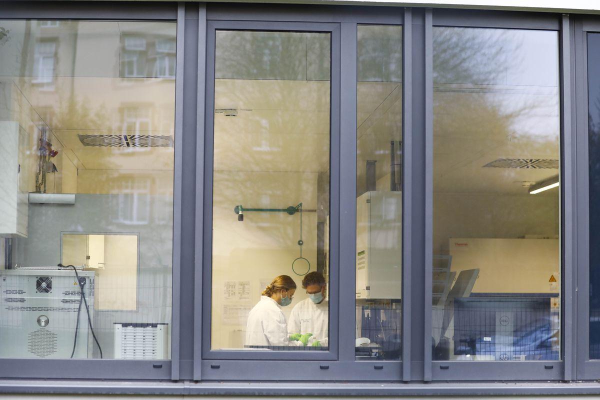 Headquarters of pharmaceutical company BioNTech