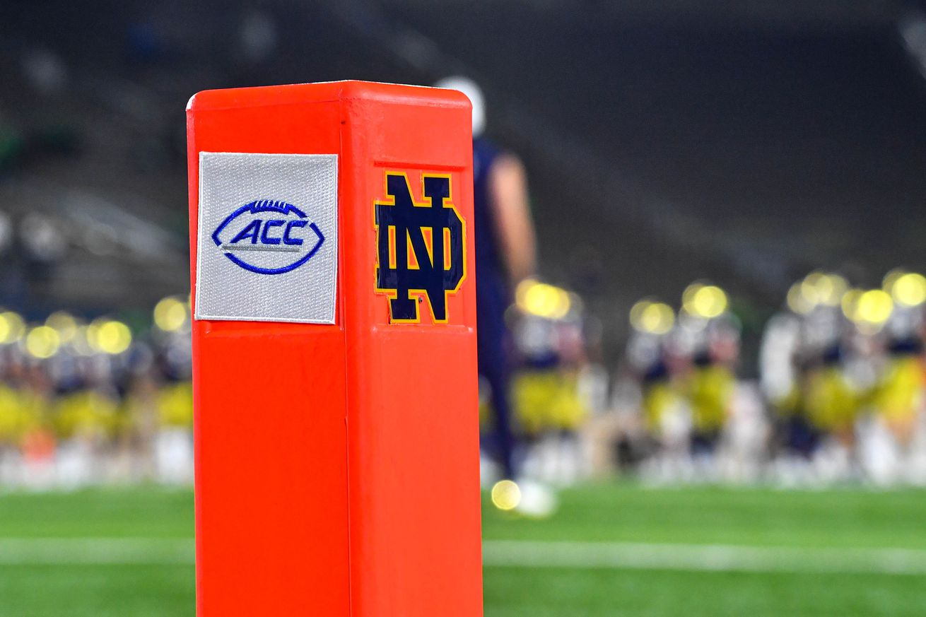 ACC football with Notre Dame