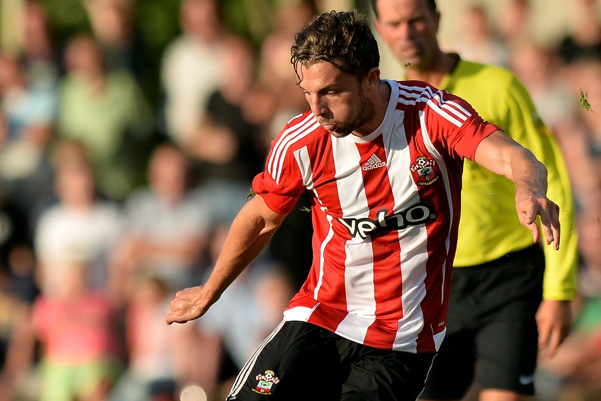 Jay Rodriguez scored a hat-trick as he completed 90 minutes for the first time in 14 months