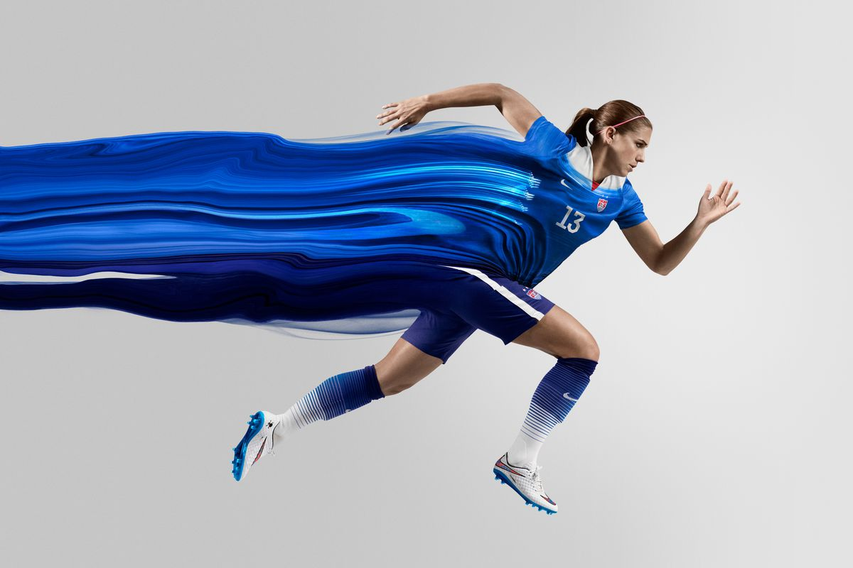 America s new away kit is bold and blue but US Soccer still lacks an  identity 8359662d2