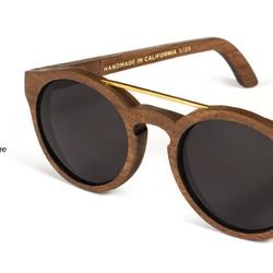 """<strong>3. Capital Eyewear Morgan Limited Edition Sunglasses, <a href=""""http://www.capitaleyewear.com"""">$250</a>  </strong> Make heads turn in these eye-catching wooden sunglass frames from San Francisco based label Capital Eyewear. Buy them at the San Fr"""