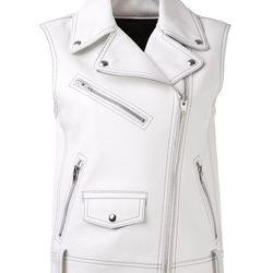 Alexander Wang leather Biker Vest, $1095