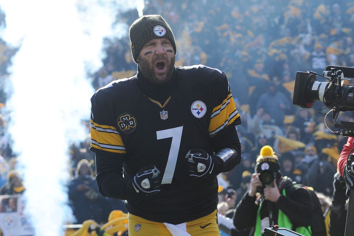 the latest d9ac7 ef508 Ben Roethlisberger is motivated, which makes the Rudolph ...
