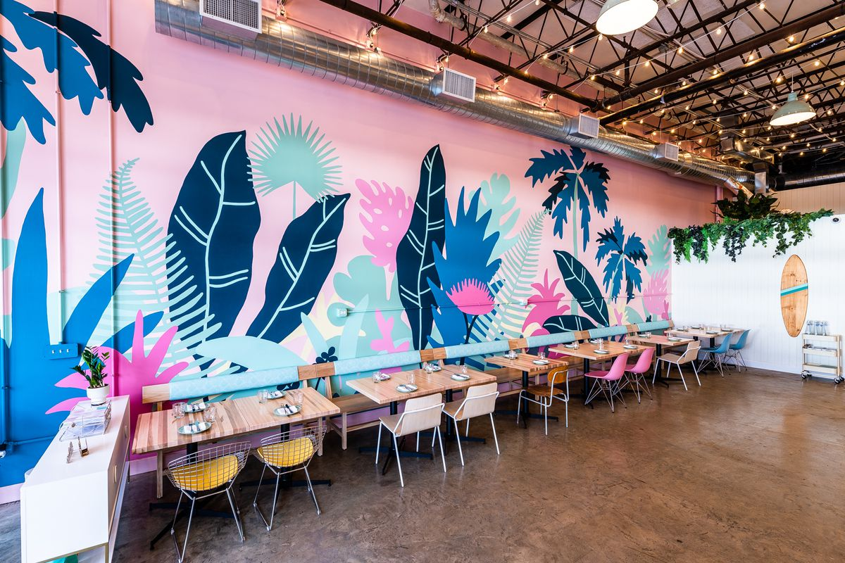 Coconut Club mural