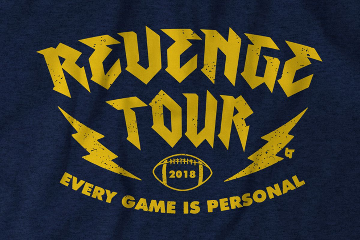 timeless design d9694 6b632 Michigan Football Revenge Tour T-Shirts - Maize n Brew