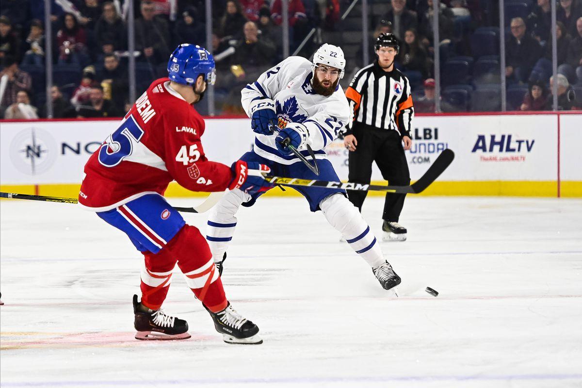 AHL: DEC 28 Toronto Marlies at Laval Rocket