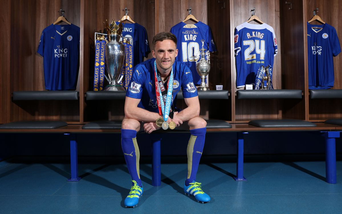 Andy King - Three Titles Photocall