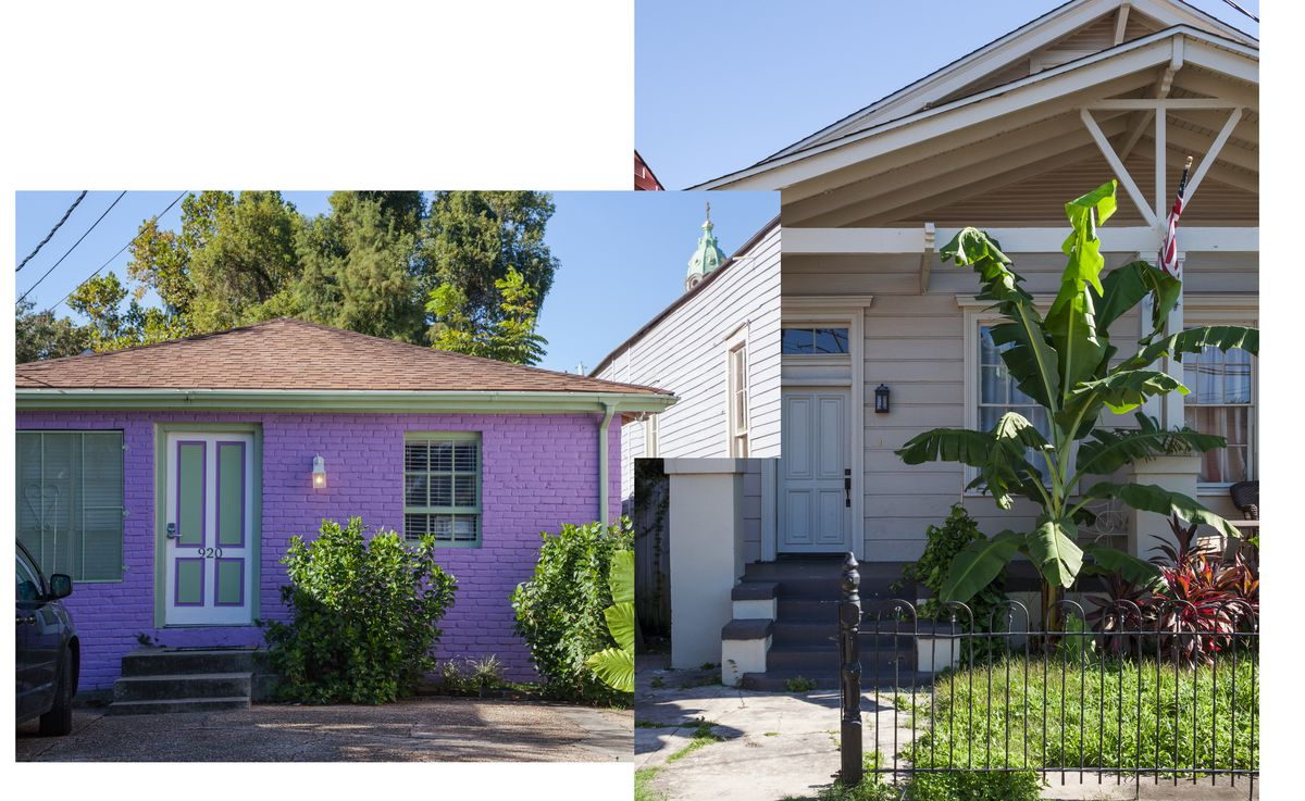 New orleans s lower garden district is a preservationist - Parking garden district new orleans ...