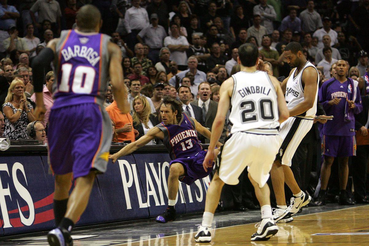 Phoenix Suns v San Antonio Spurs, Game 4
