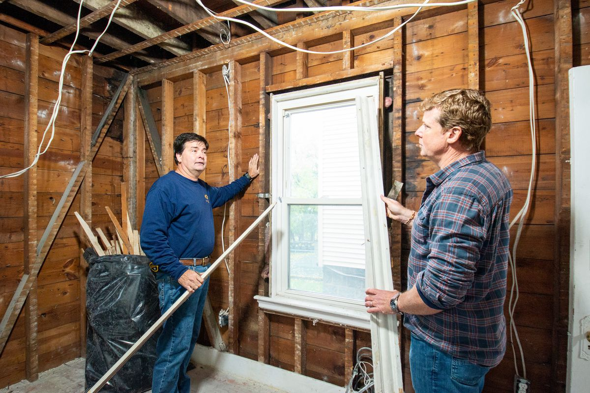 Spring 2021, Dorchester 1st look, Charlie Silva and Kevin O'Connor discuss window trim