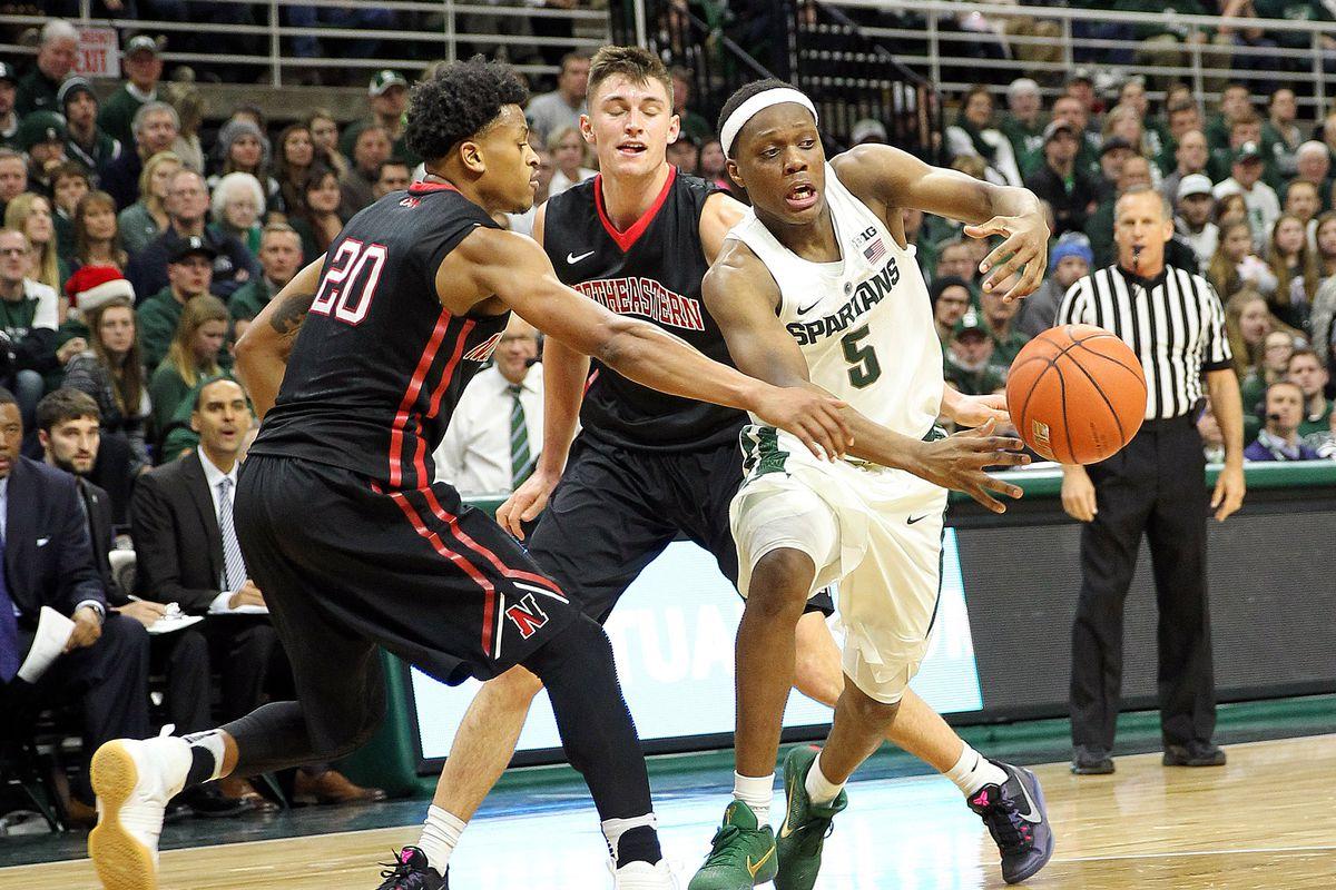 NCAA Basketball: Northeastern at Michigan State