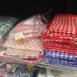 Tablecloths, $39