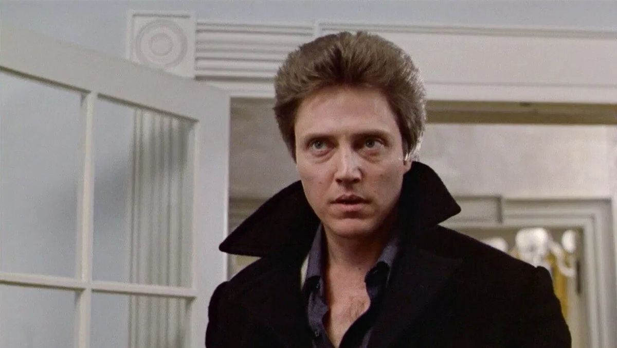Christopher Walken as the psychic Johnny Smith in The Dead Zone