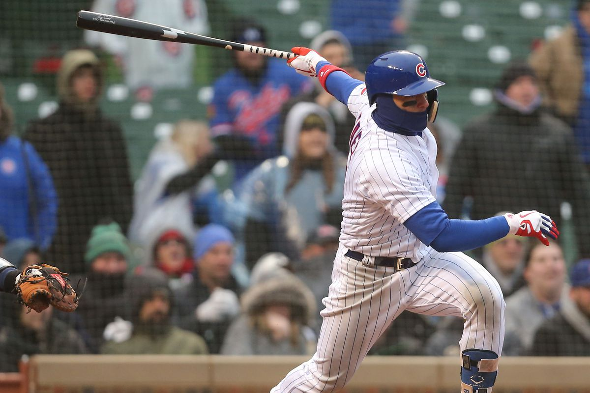 d210715db Cubs 14, Braves 10: The wet, the cold and the incredible comeback win