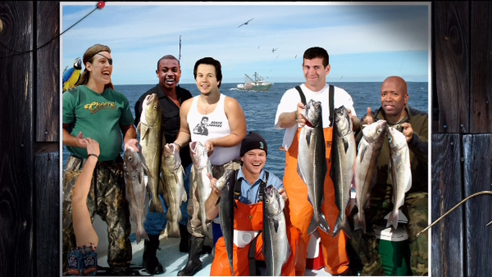 'Gone Fishing' NBA photoshops feature Kevin Love's severed