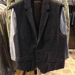 Men's vest, $125