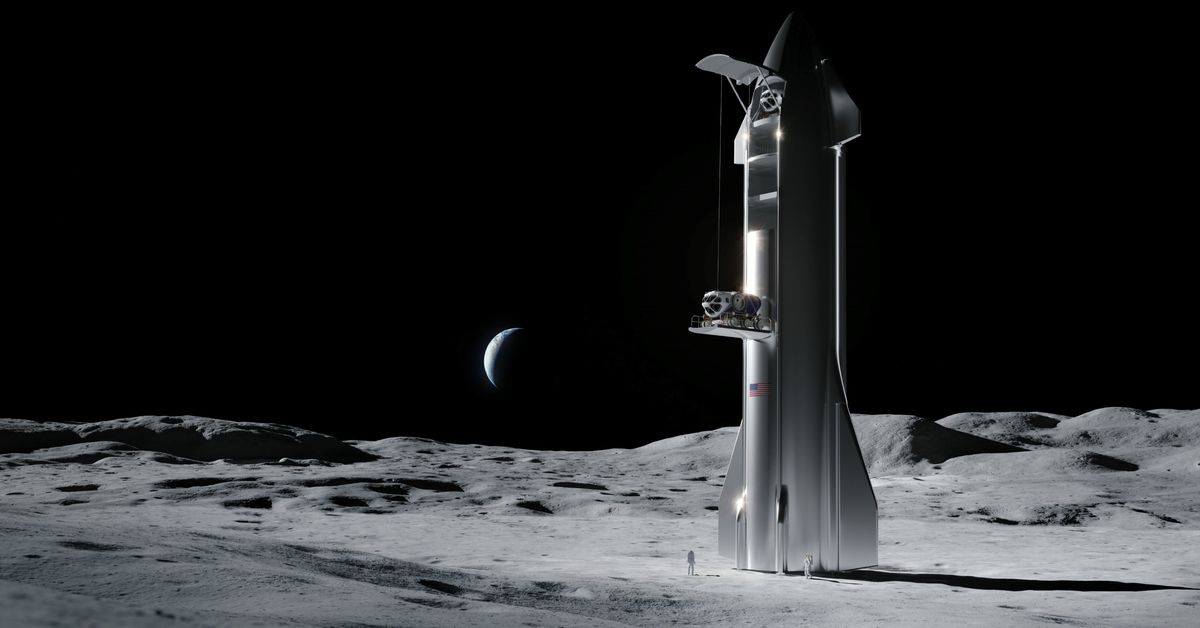 NASA partners with SpaceX, Blue Origin, and more to send large payloads to the Moon