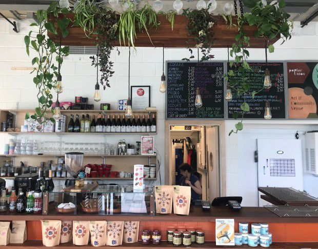 E5 Roasthouse in Poplar, one of the best coffee shops to work from in London