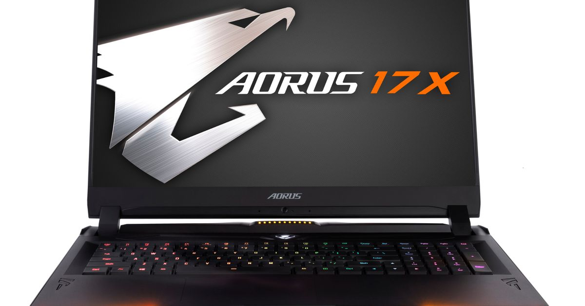 Gigabytes latest gaming laptop supports Intels most powerful...