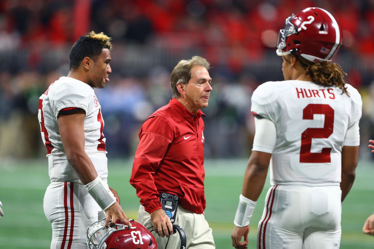 Alabama Is Loading Up On Qbs Which Doesn T Make A Transfer Look Any Less Likely