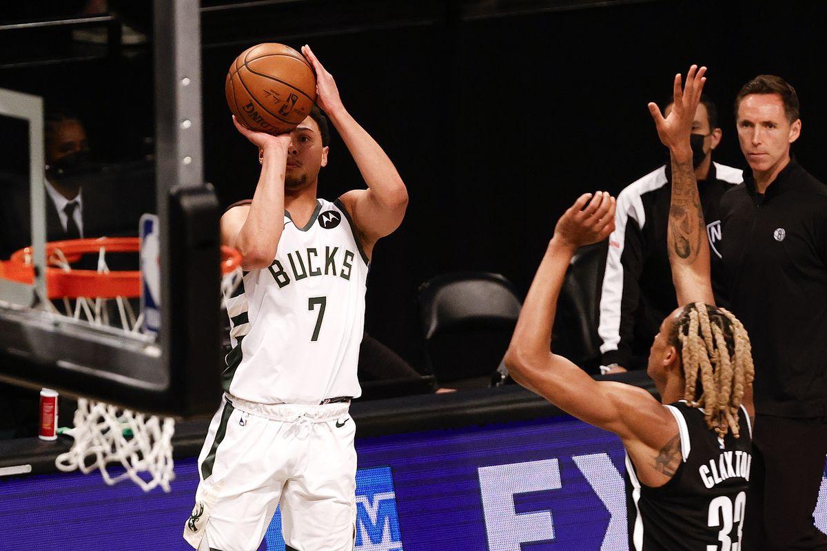 Milwaukee Bucks v Brooklyn Nets - Game One
