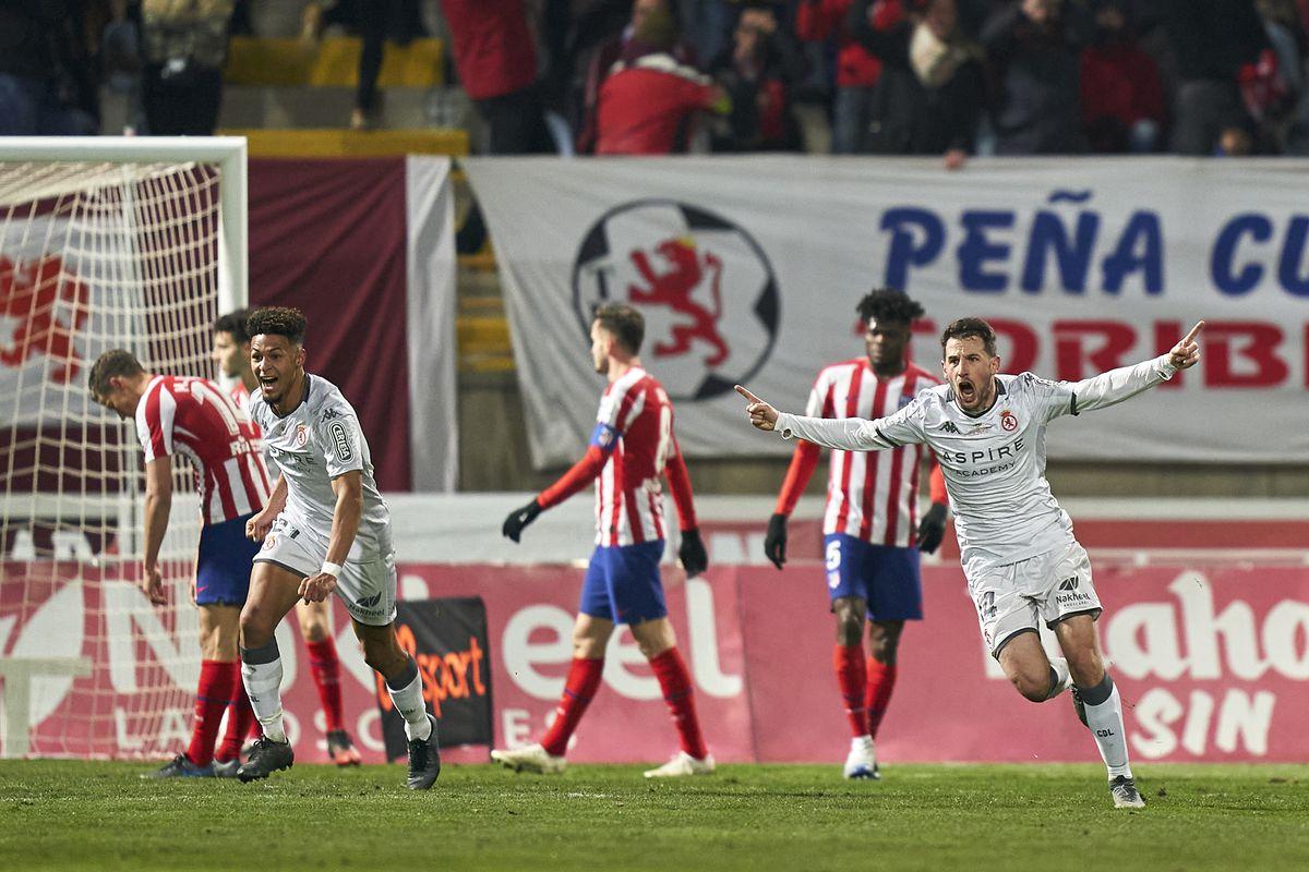Cultural Leonesa v Atletico de Madrid - Copa del Rey: Round of 32