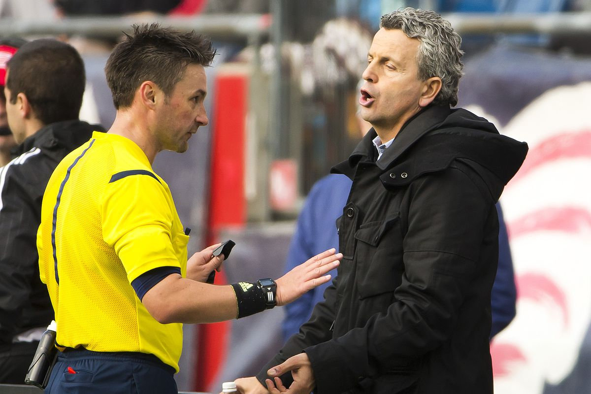 Enough, enough - Klopas has a disagreement with the official