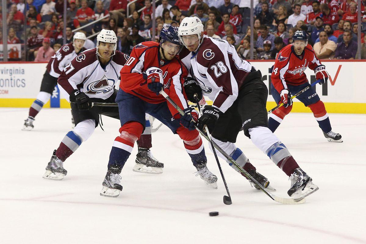 NHL: Colorado Avalanche at Washington Capitals