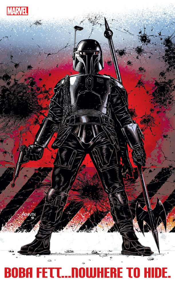 marvel comics: boba fett comic cover