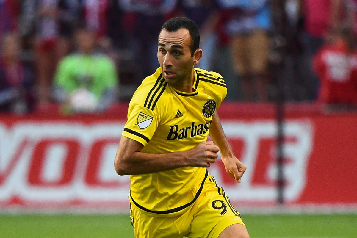 Justin Meram could have an opportunity to make a big impact for Columbus on Saturday against Toronto.