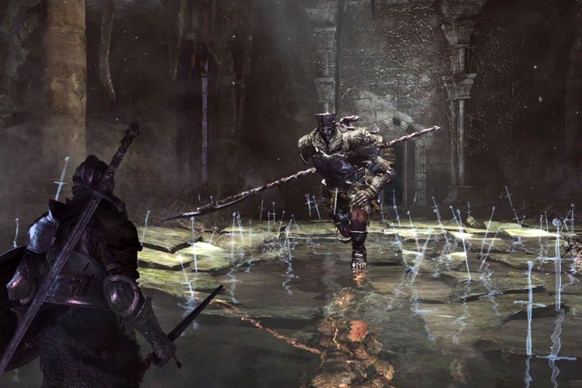 First Images And Rumored Gameplay Details For From Softwares Dark Souls 3 Reportedly Making An Appearance At This Years E3 Appear To Have Leaked A Bit