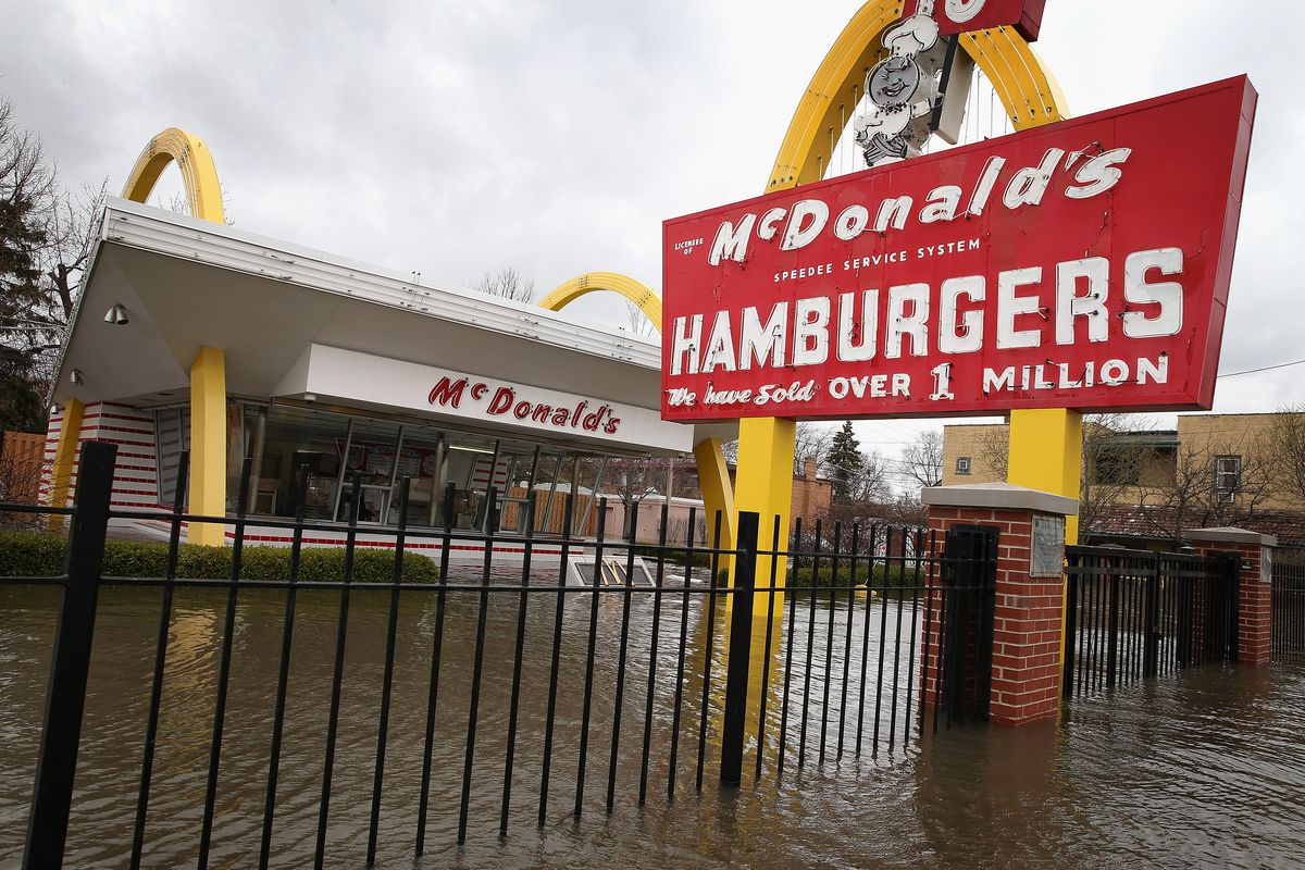 Illinois Battles With Widespread Flooding From Heavy Rains