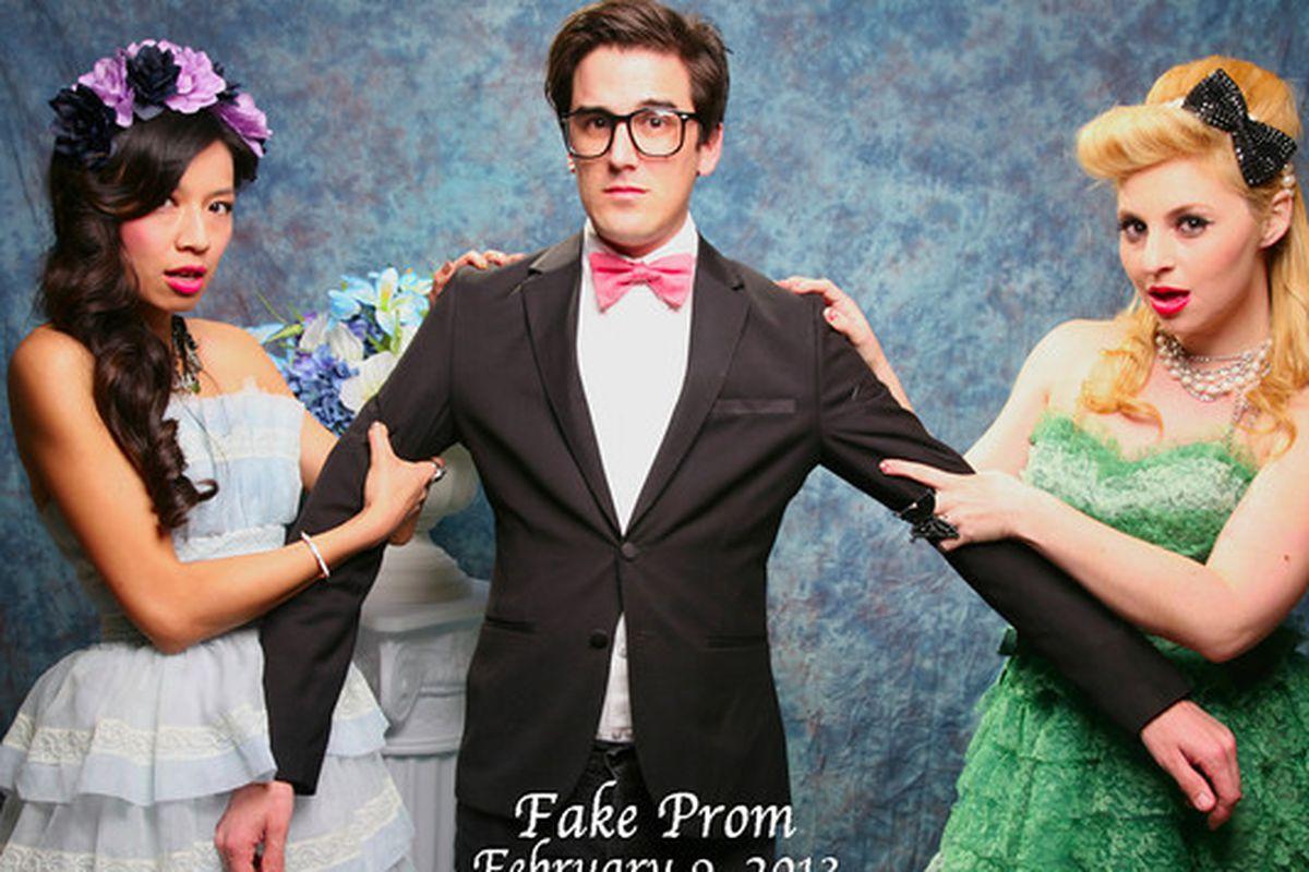 Fake Prom 2013. Image via Unique LA.