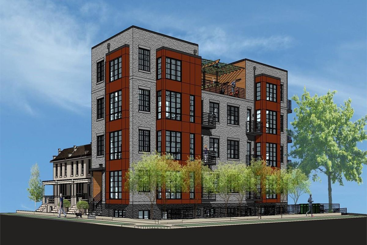 Apartment Building Construction new takoma apartment building to begin construction next spring