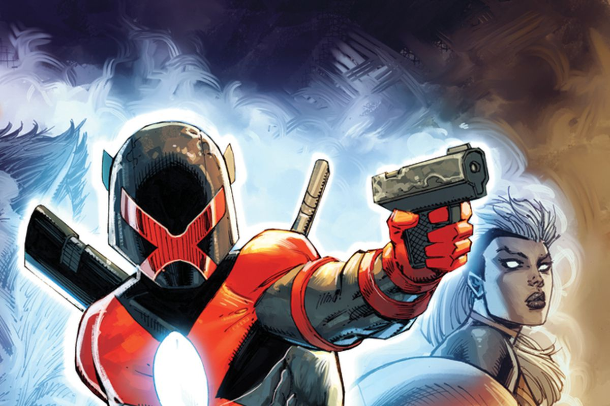 The cover of Major X #1, Marvel Comics (2019).