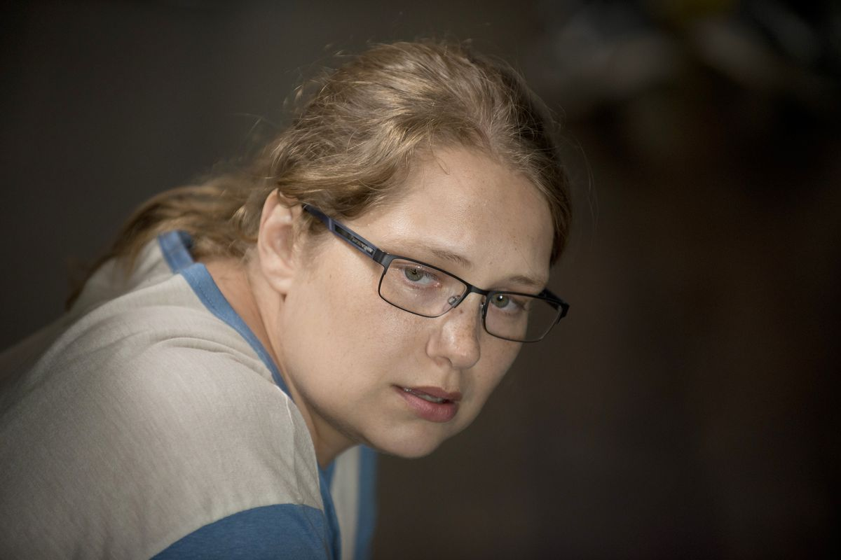 I love Merritt Wever. It's hard to suss out what she's doing on this show.