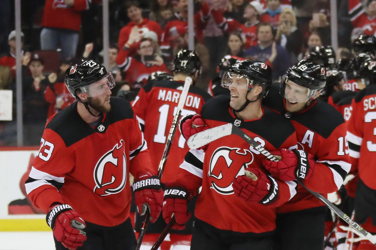 6b318becd The New Jersey Devils Secured First Playoff Spot Since 2012 with 2-1 Win  Over Toronto