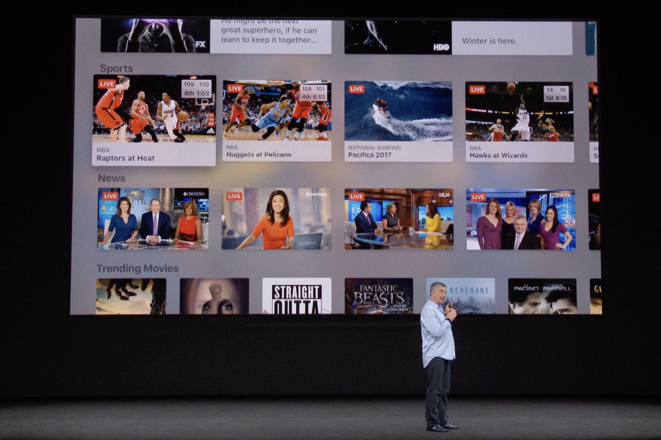 apple rolls out live news in tv app for ios and apple tv