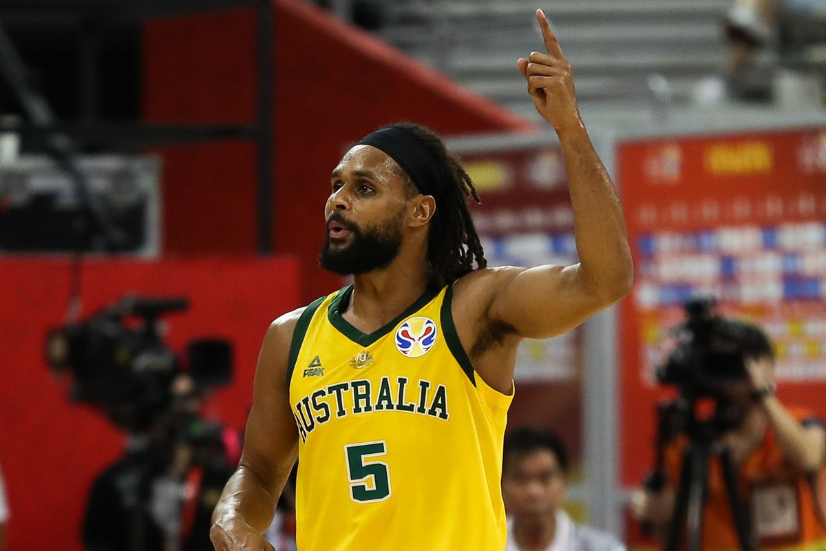 official photos eb74a 64019 The Spurs need the FIBA version of Patty Mills - Pounding ...