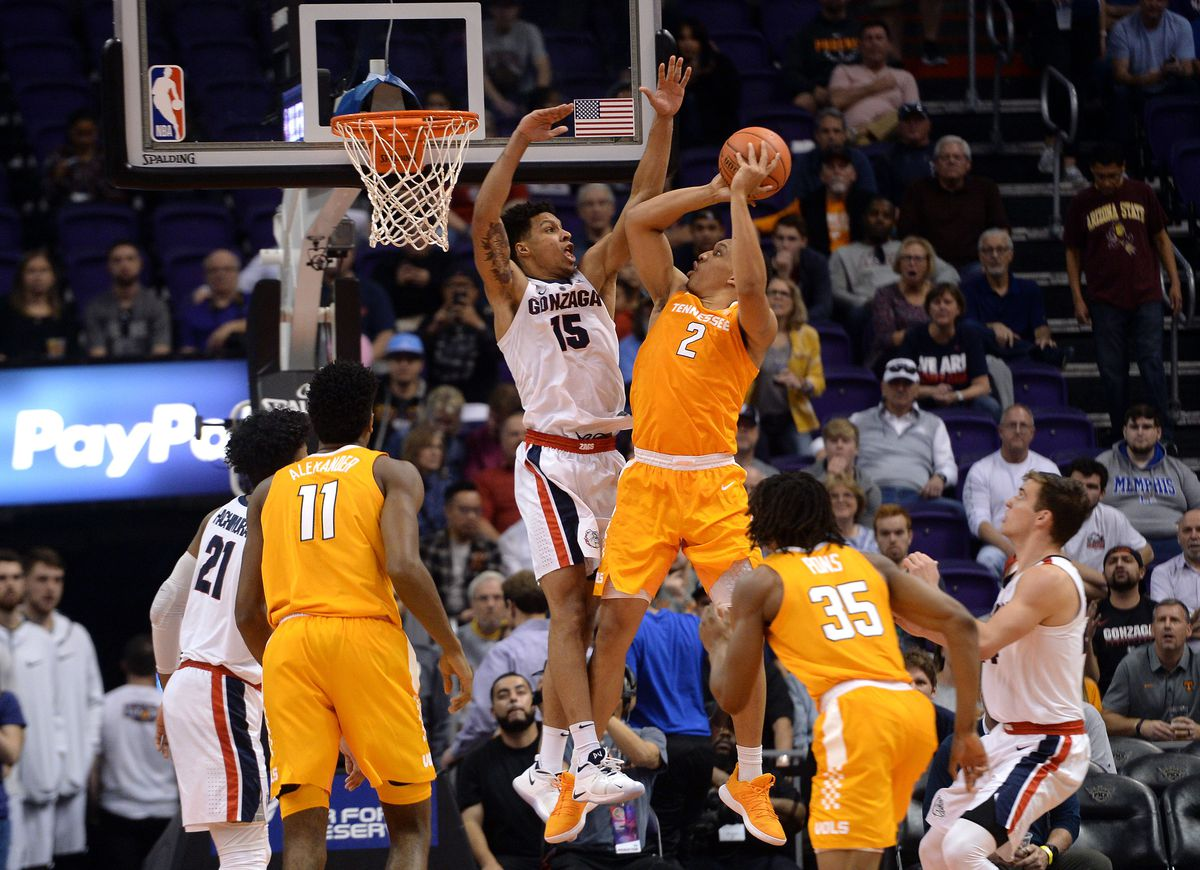NCAA Basketball: Gonzaga at Tennessee