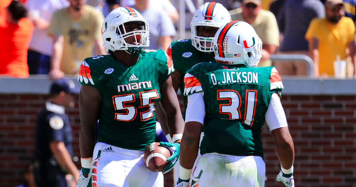 meet 83f04 014b4 The Miami Hurricanes' throwback uniforms are too good to ...