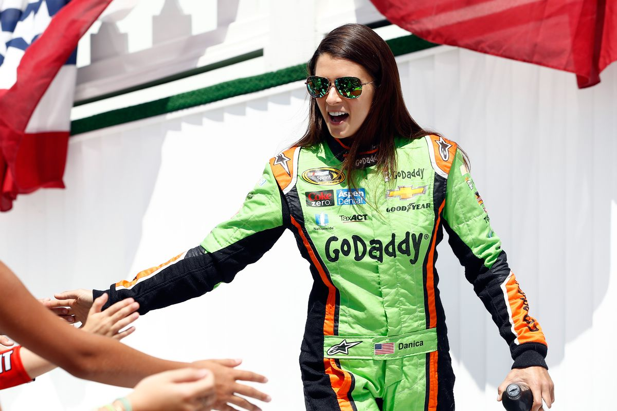 Check out Danica Patrick's 2018 Go Daddy Daytona 500 paint scheme