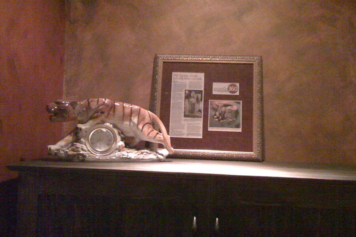 The Tigress's tiger clock