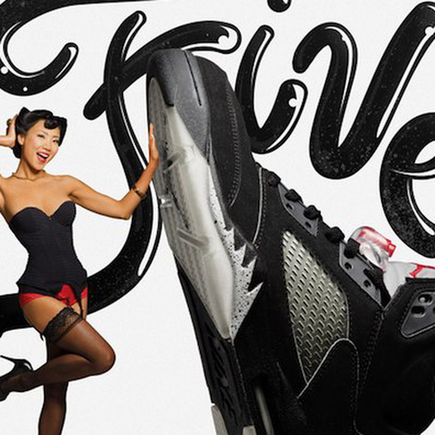 new concept 5df7a 70503 Playboy Playmates Pose With the Top 23 Air Jordans of All Time